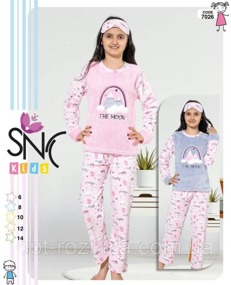 Детские теплые пижамы из Турции