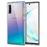 Чехол Spigen для Samsung Galaxy Note 10 Ultra Hybrid, Crystal Clear (628CS27375), фото 1