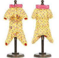 Дождевик для собаки Pet Fashion Бонни M, Длина спины 33-36, обхват груди 41-48 см. для девочки
