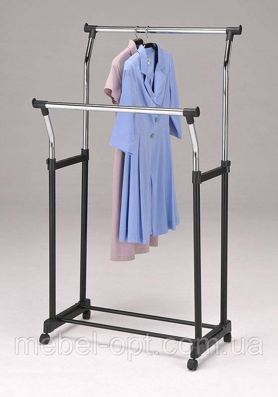 Мобильная стойка для одежды W-121 (CH-4344)