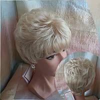 Парик короткий из канекалона пшеничный блонд 3363-24ВТ613