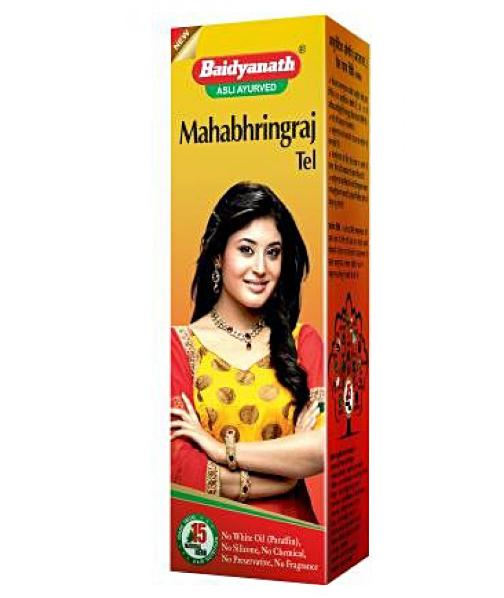 Масло для волос Махабрингарадж, Mahabhringraj Tel, Baidyanath, 100 мл