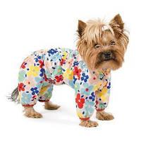 Дождевик для собаки Pet Fashion Бонни S, Длина спины: 27-30см, обхват груди: 32-40см. для девочки