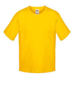 Футболка для мальчиков 104 см Солнечно Желтый