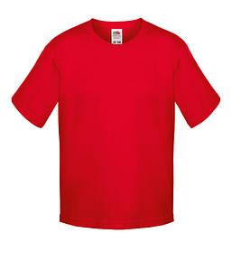 Футболка для мальчиков Красный 104 см