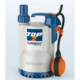 Погружные дренажные насосы PEDROLLO модель TOP-VORTEX для загрязненной воды