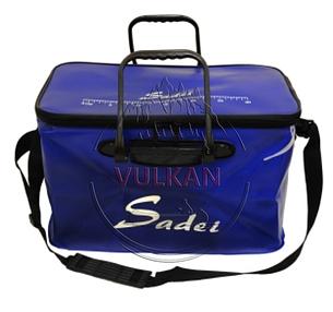 Водонепроницаемая сумка для рыбалки Sadei синяя (20 л), фото 2