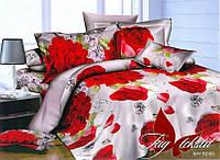 Комплект постельного белья 3Д двусальный полисатин TAG  PS-NZ2183