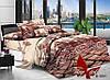 Комплект постельного белья Ранфорс семейный 2 пододеяльника TAG R1001