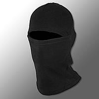 Флисовая балаклава (черная). теплая балаклава. шарф труба. балаклавы на зиму