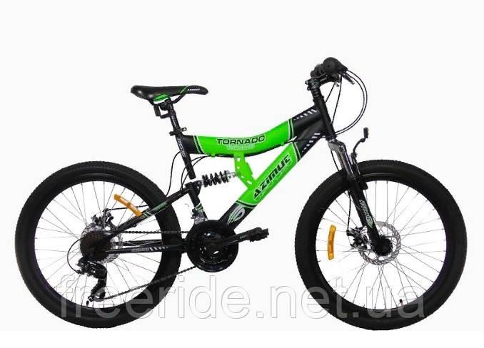 Подростковый Велосипед Azimut Tornado 24 GD