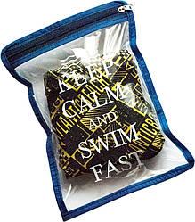 Водонепроницаемая сумка для мужских плавок Organize К003 синий - 176149