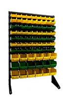 Cтеллаж для метизов с ящиками ART15-81 ЖЗ/ящики пластиковые для транспортировки,ящики для запчастей