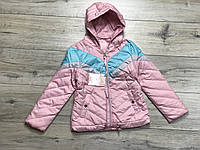 Демисезонная куртка для девочек. 4- 10 лет.