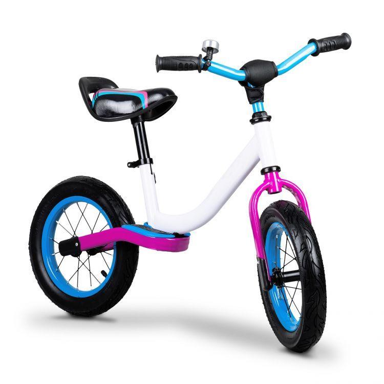 Велобег детский Ecotoys BW-1199 надувные колёса (беговел, самокат-беговел, детский транспорт)