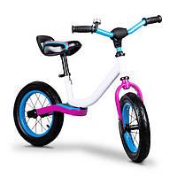 Велобег детский Ecotoys BW-1199 надувные колёса (беговел, самокат-беговел, детский транспорт), фото 1