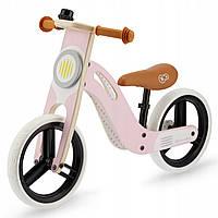 Велобег деревянный Kinderkraft Uniq розовый, фото 1