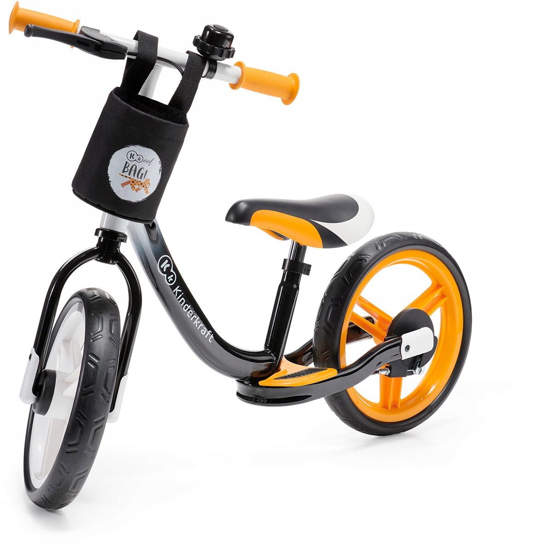 Велобег детски Kinderkraft Space + тормоза корзинка подставка для ног (беговел самокат-беговел)