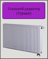 Стальной радиатор DL 300х1200 22 типа нижнее подключение