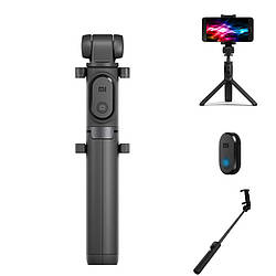 Трипод Xiaomi Selfie Stick Tripod Bluetooth Black блютуз, с пультом