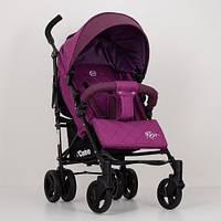 Детская коляска-трость El Camino Rush ME 1013L лен, фиолетовая - 156005
