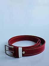 Детский пояс для мальчика Byblos Италия BU0565 красный 140