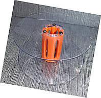 Катушка для мерных материалов: Ø изделия - 121 мм, Ø центральной части катушки - 35 мм, ширина - 55мм