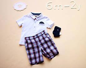 Детский костюм для мальчика Нарядная одежда для мальчиков BRUMS Италия 151BBEA011