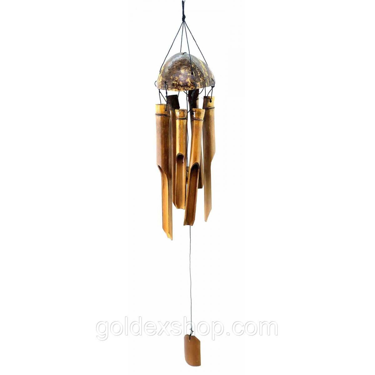 Музыка ветра из бамбука и кокоса (60х9х9 см)