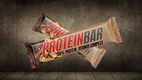 Протеиновый батончик Power Pro Protein Bar (32%) 60 грамм  вкус « с арахисом и карамелью »