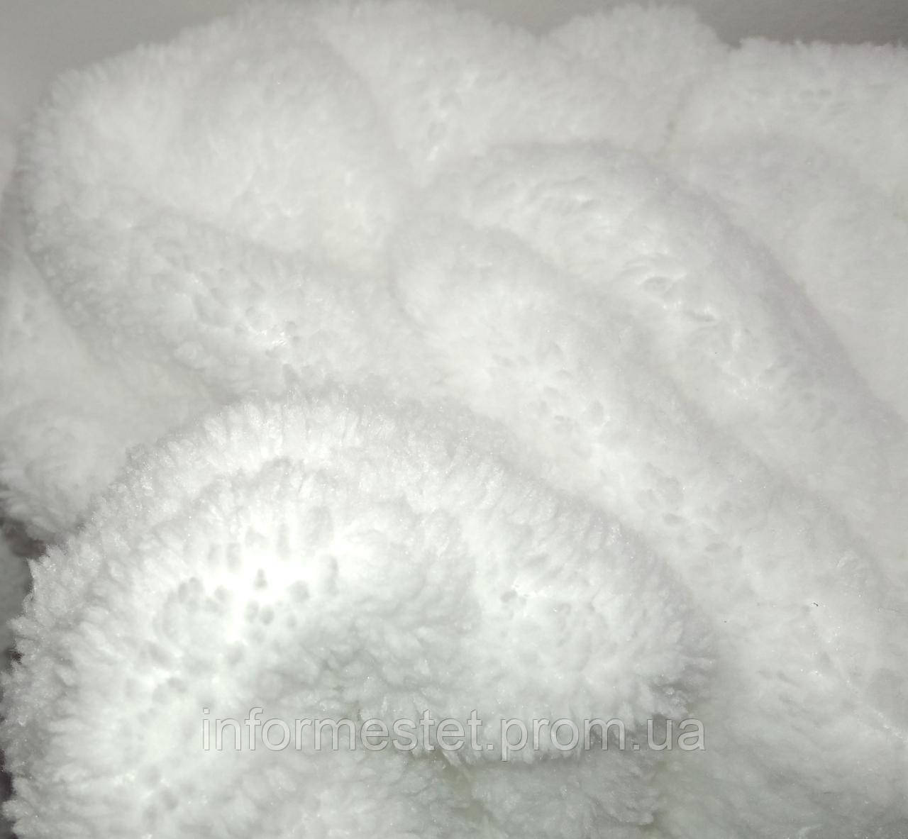 Чехол на кушетку (махра 2-х сторонняя) белый