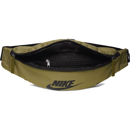 Сумка на пояс Nike Sportswear Heritage BA5750-368 Зеленый (192499685766), фото 2