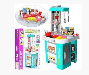 Детская игровая кухня 922-48 со светом и звуком, льется вода