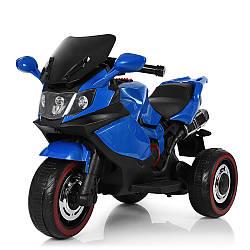 Детский трехколесный мотоцикл BMW M 3680L-4, синий