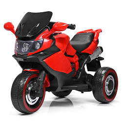 Детский трехколесный мотоцикл BMW M 3680L-3, красный