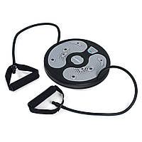 Диск твистер с экспандерами Sapphire SG-036 (диск здоровья, диск для фитнеса напольный)