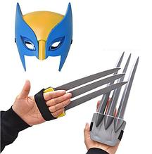 Игровой набор маска и когти Россомахи Marvel