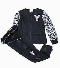 Детские брюки для девочки SILVIAN HEACH Италия MDJI6049PA Черный