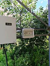 Шкаф защиты солнечной электростанции.
