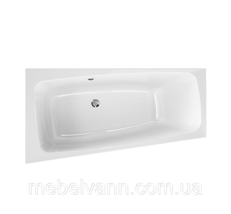 Акриловая ванна Kolo Split 170х90 асимметричная ванна, левая, центральный слив