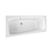 Акриловая ванна Kolo Split 170х90 асимметричная ванна, левая, центральный слив, фото 1