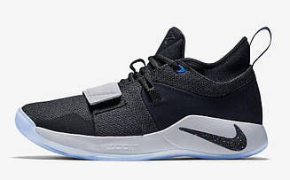 "🔲 Баскетбольные кроссовки Nike PG 2.5 ""Black/Photo Blue"""