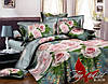 Комплект постельного белья Ранфорс семейный 2 пододеяльника TAG R2030