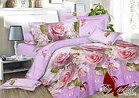 Комплект постельного белья Евро TAG polysatin PS-NZ024