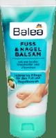 Balea Fuss und Nagelbalsam бальзам для ног и ногтей с маслом жожоба и авокадо 100 мл