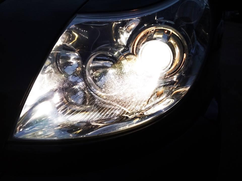 Установка линз в штатную оптику CITROEN Jumper 2013. Улучшение света в 2 раза.
