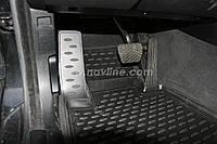 Комплект резиновых ковров в салон BMW 3 (E90) с 2006-/ цвет:черный / производитель Ладалокер