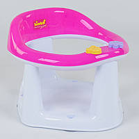 Детское сиденье для купания на присосках BM-10600 PINK-WITE Bimbo, цвет бело-розовый - 153777