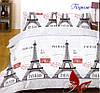 Постельное белье Евро комплект , хлопок 100% Ранфорс Париж