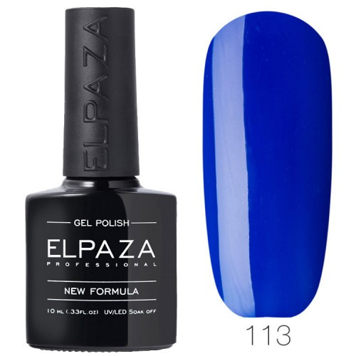 Гель-лак ELPAZA Classic №113 Край света, синий